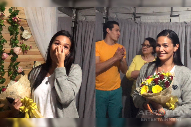 LOOK: Iza Calzado gets a surprise Bridal Shower from her Ngayon at Kailanman family