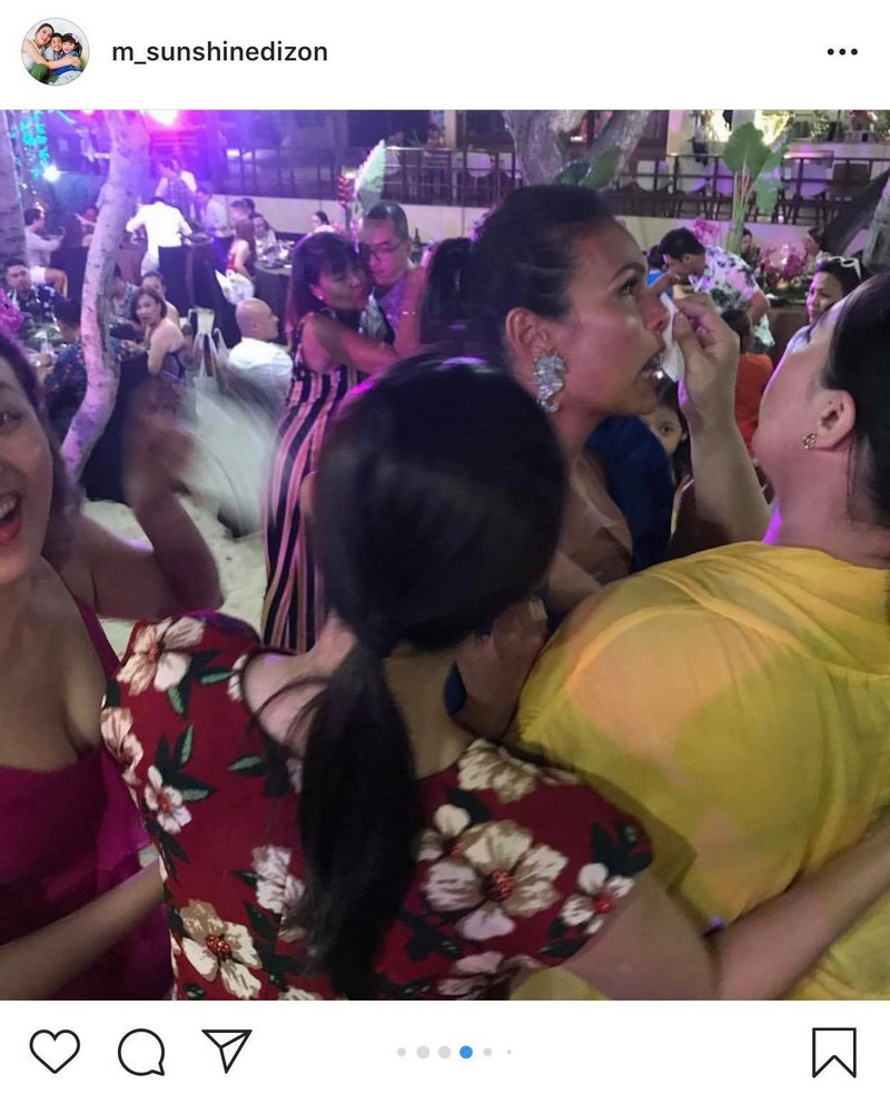 #BecomingMrsWintle: Touching moments at Iza & Ben's welcome party