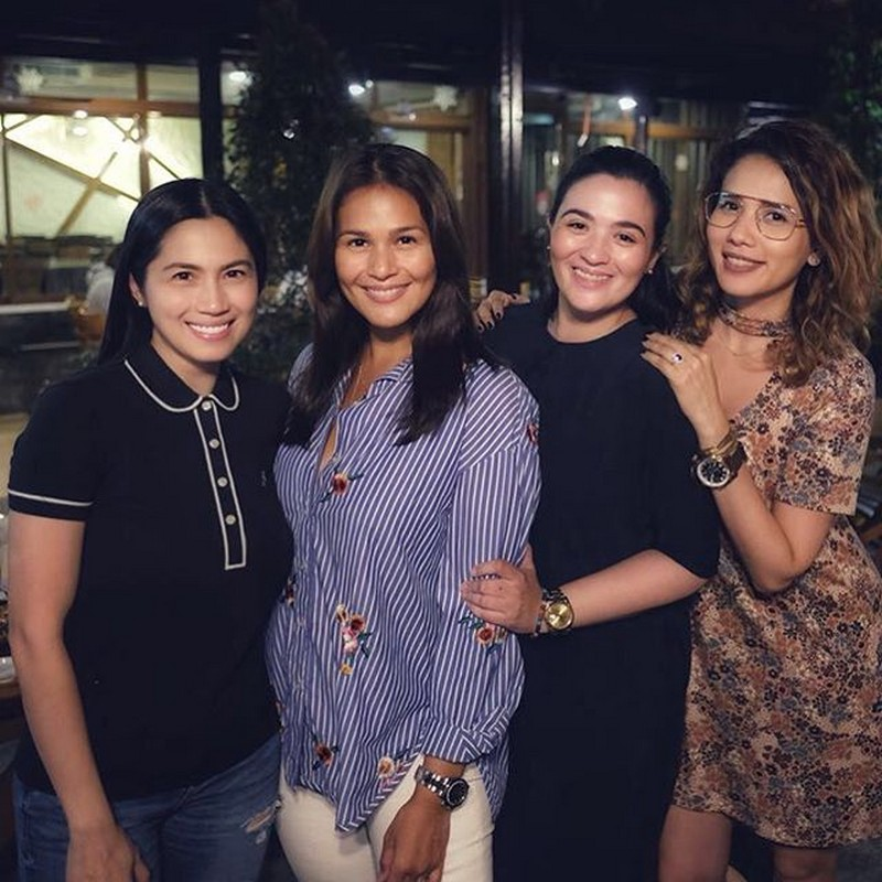 THEN & NOW: Iza, Karylle, Sunshine & Diana's friendship through the years!