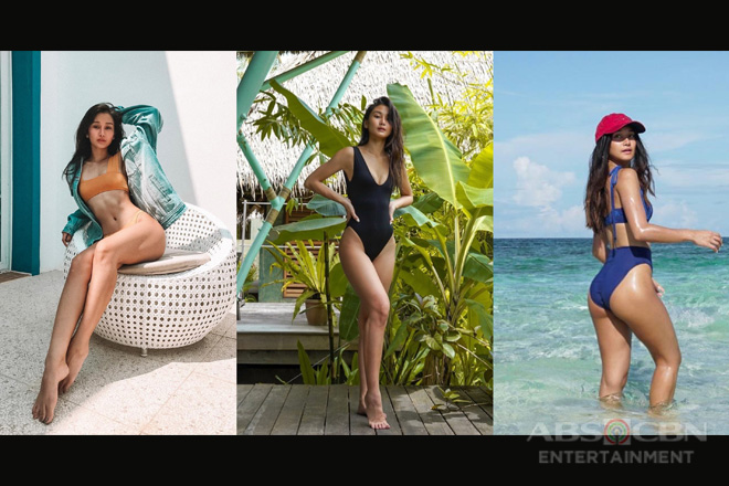 35 times Chienna Filomeno flaunt her 'hourglass' curves in these bikini photos