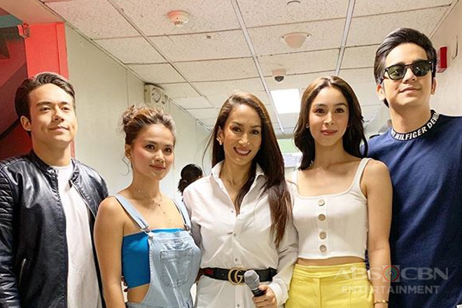 10 Times Challenge with the stars of Ngayon At Kailanman